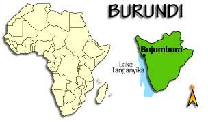 Allow The Children Ministries - Where is burundi